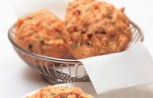 Muffin Wortel dan Parsnip