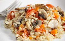 Nasi Goreng Sayuran dan Keju Gouda