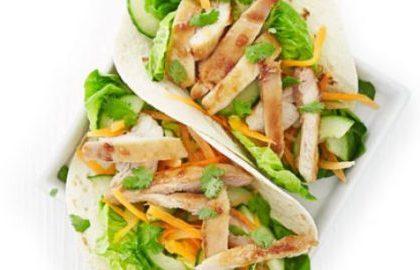 Ayam Vietnamese Dibungkus Tortilla
