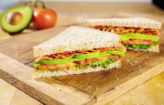 Sandwich Isi Daging Sayuran