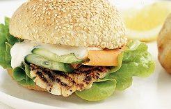 Burger Ikan Panggang