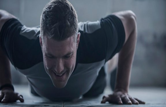Explosive Crossover Pushup