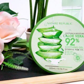 Review Nature Republic Aloe Vera Soothing Gel: Gel Lidah Buaya Multi Manfaat Untuk Kesehatan Dan Kecantikan