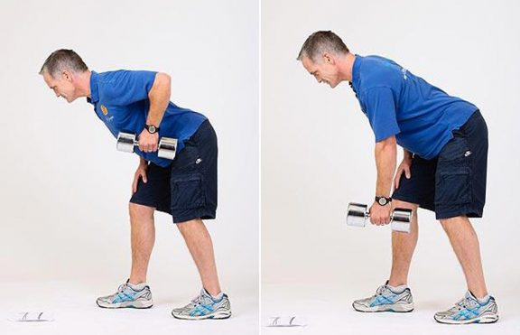One-arm Bent-over Row