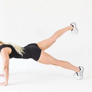 Plank Dengan Leg Lift
