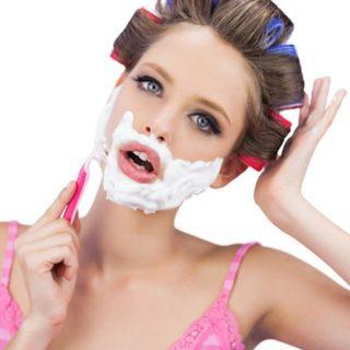 Wanita, Ini Cara Mencukur Wajah Anda