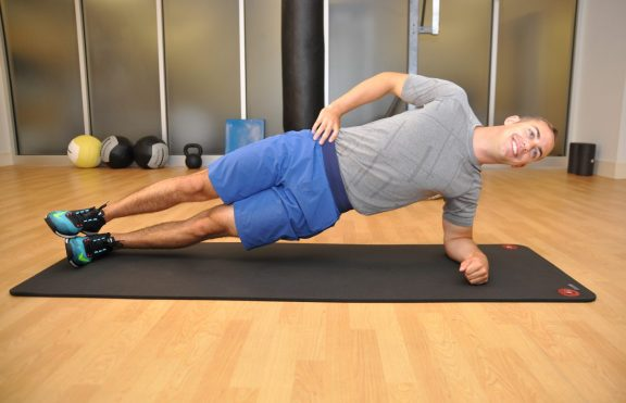 Forearm Side Plank Pose