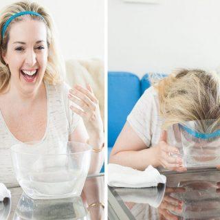 Mencuci Wajah Dengan Sparkling Water Ala Wanita Korea