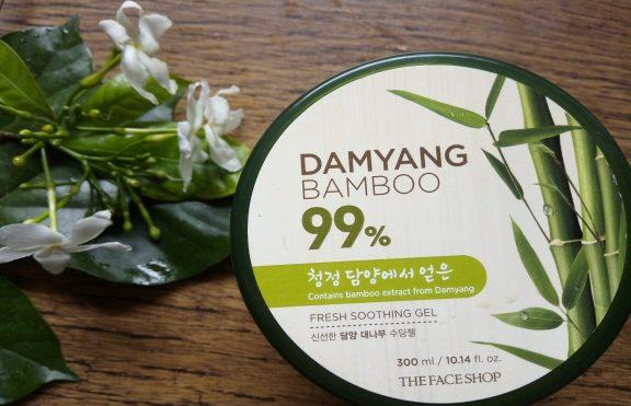 Bamboo Shooting Gel The Face Shop Jerawatan