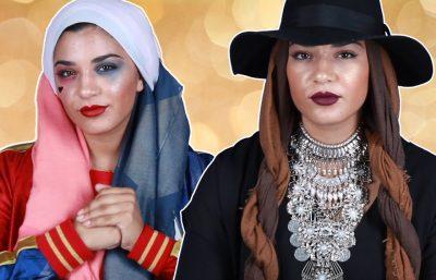 Inspirasi Kostum Halloween Hijab Yang Bisa Anda Contek