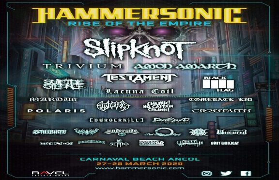 Hammersonic 2020 – Rise of The Empire
