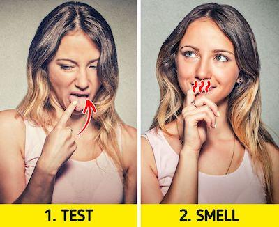 8 Cara Mengetahui Jika Anda Memiliki Bau Mulut 2
