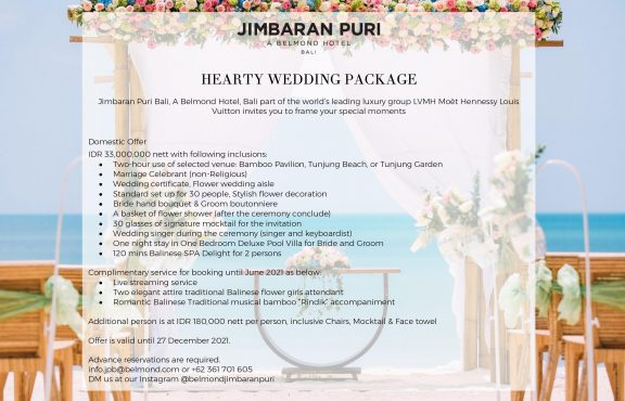 Hearty Wedding Package