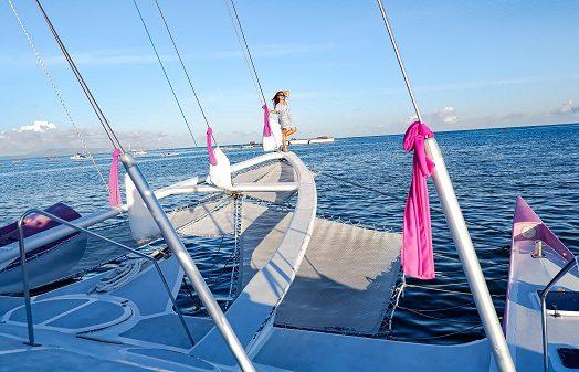 Sewa Kapal Aneecha Sailing Catamaran, Bali