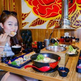 Makanan ala Jepang ya di Sama Sama Restoran dong