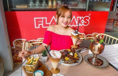 Restoran dessert ala Flapjaks Bali