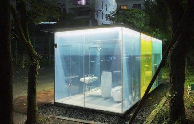 Jepang memasang toilet umum tembus pandang untuk membantu kebersihan